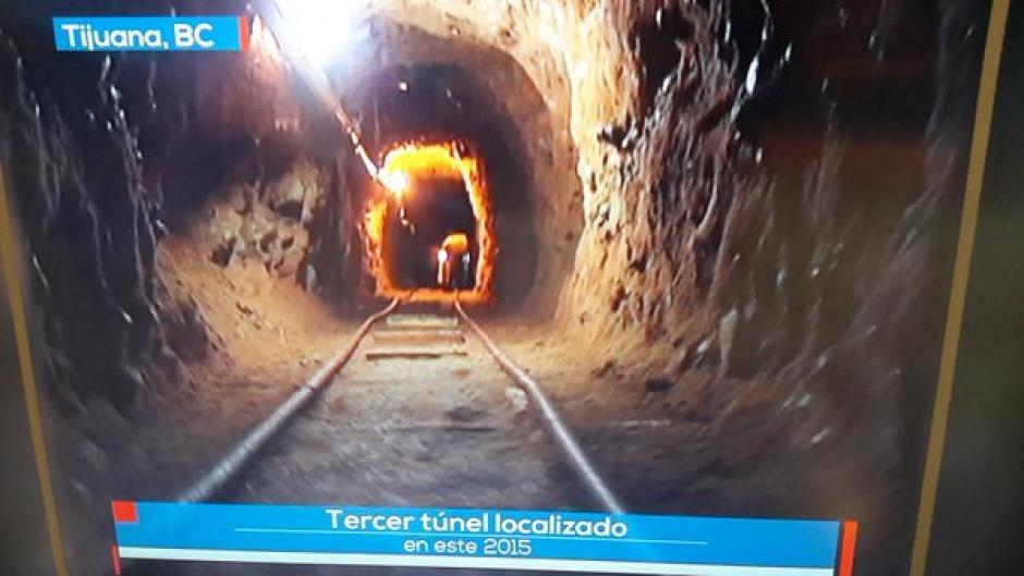 Otro narcotúnel en la frontera México-EEUU con este es el tercero descubierto en 2015.
