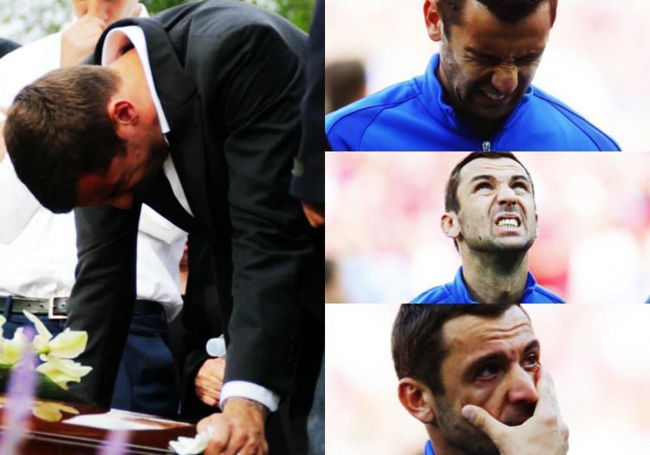 Las lágrimas de Darijo Srna, capitán de Croacia conmovieron al mundo. (Foto: nfofut_world)