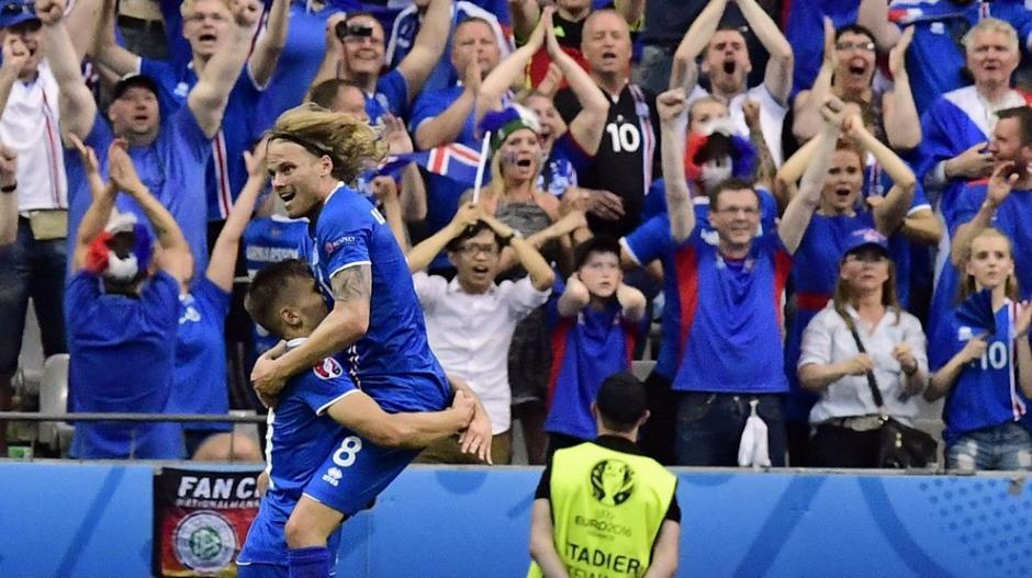 Islandia relato del gol foto