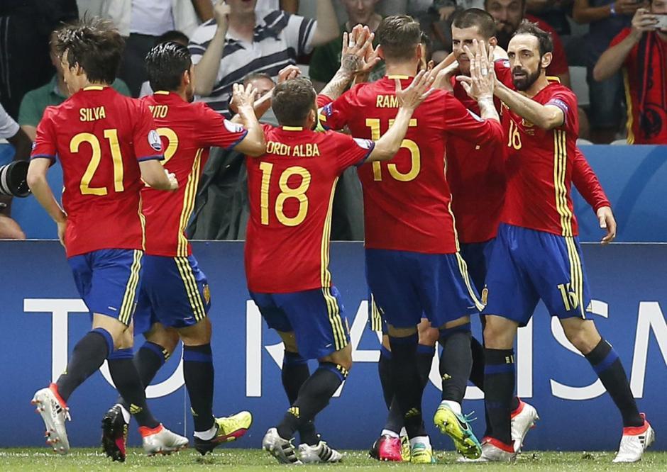 La Selección española sigue con paso firme. (Foto: EFE)