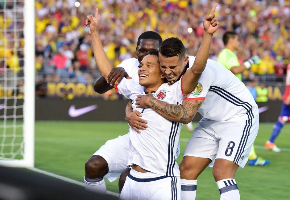 Teo Gutiérrez, fue también otro héroe para los colombianos. (Foto: EFE)