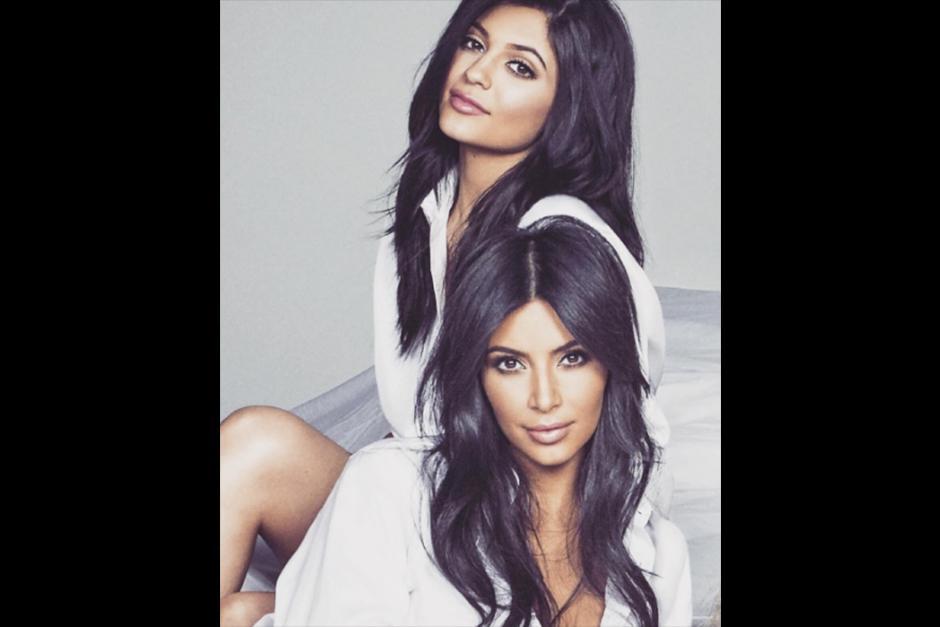 Kim es la mayor de las hermanas y Kylie la menor. (Foto: Instagram)
