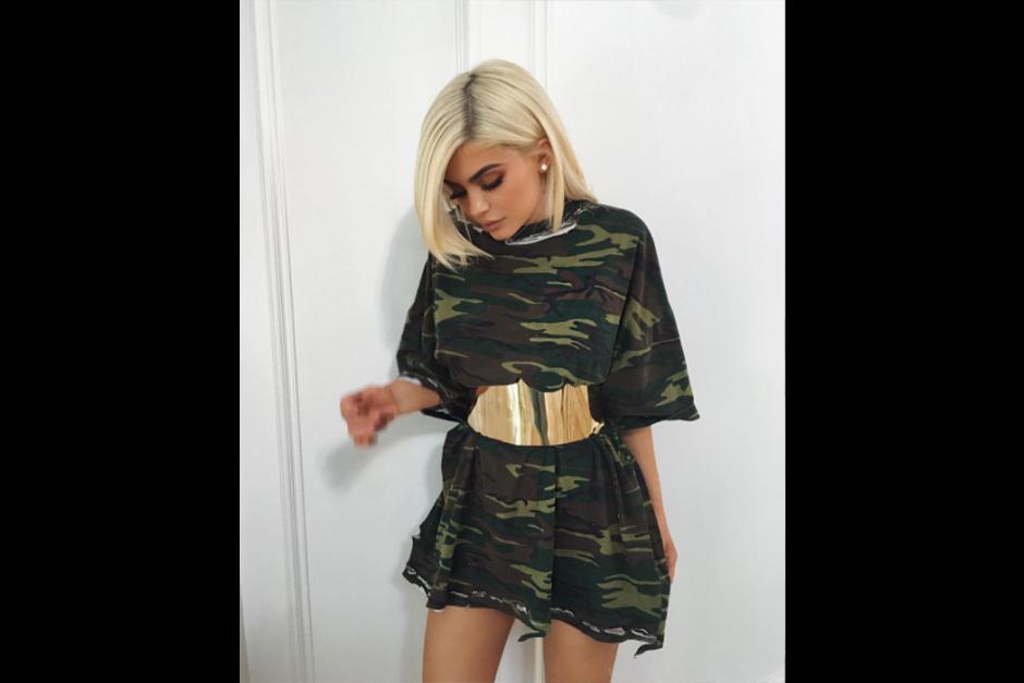 Kylie se ha convertido en toda una empresaria por su linea de cosméticos. (Foto: Instagram)