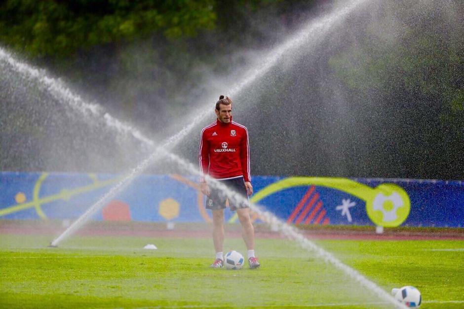 Gareth Bale  crioterapia foto