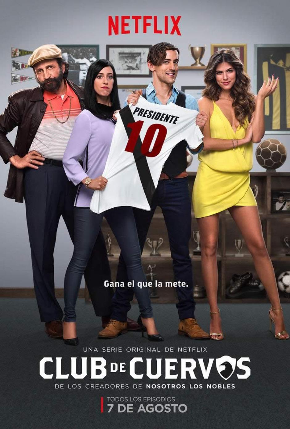 La serie se transmite por Netflix y próximamente se estrenará su segunda temporada. (Foto: cinepremiere.com.mx)
