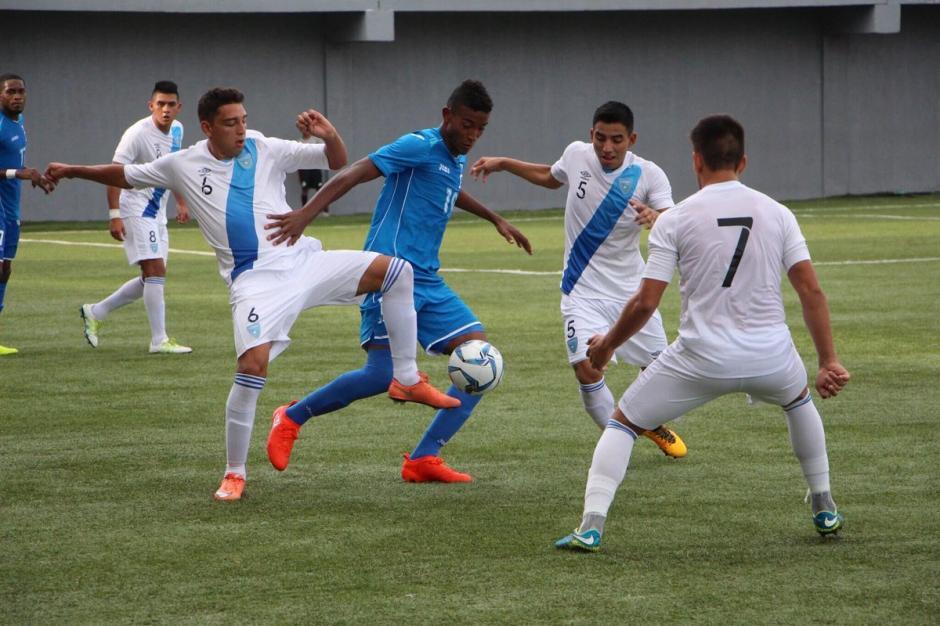 Guatemala - Honduras sub20 foto 2016