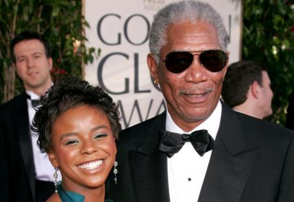 Ahijada de Morgan Freeman foto
