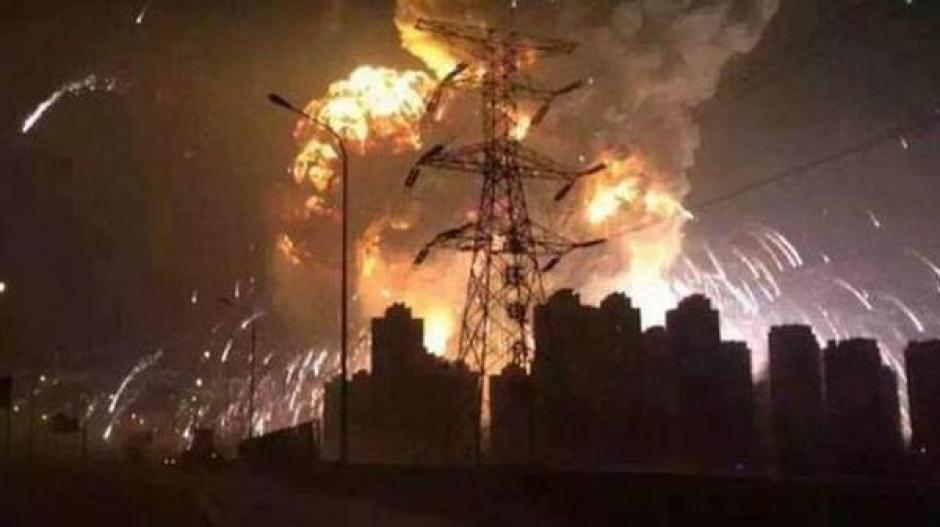 Explosiones en Tianjin foto