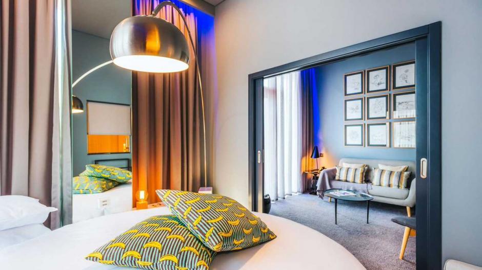Las habitaciones del hotel CR7 Pestana, muestran elegancia. (Foto: Twitter)