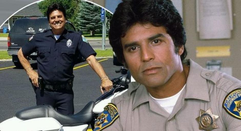 """Erik Estrada quien interpretó """"Poncharello"""" en la serie Chips Patrulla Motorizada ya es policía en la vida real. (Foto: ilmessaggero)"""