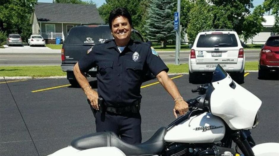 Erik Estrada usará una moto similar a la usada en Chips Patrulla Motorizada. (Foto: Infobae):