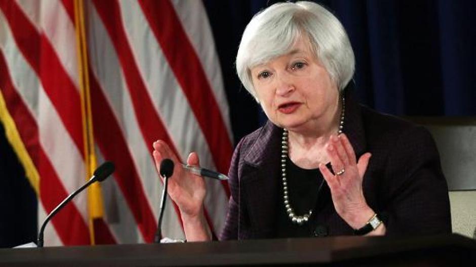 Janet Yellen es una economista estadounidense que Barack Obama nombró como presidenta del Sistema de Reserva Federal, primera mujer en ocupar el cargo. (Foto: cnbc.com)