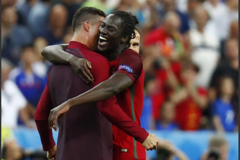 Éder convirtió el gol del campeonato para Portugal en el minuto 109. (Foto: Agencias)
