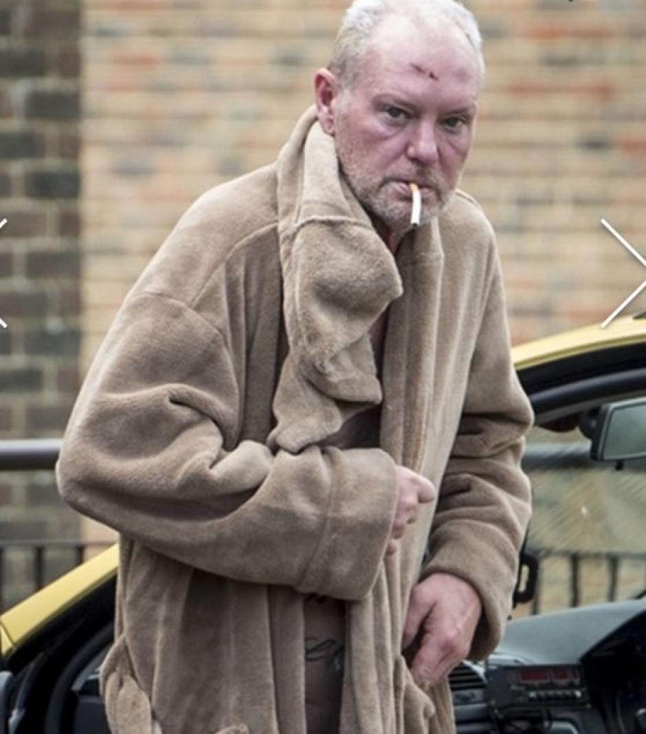 Paul Gascoigne luce muy mal debido al alcoholismo. (Foto: The Sun)