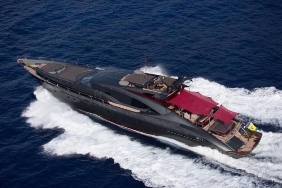 Así es el Ascari el yate de lujo que rentó CR7 y que cuesta US$15 mil diarios. (Foto: TN)