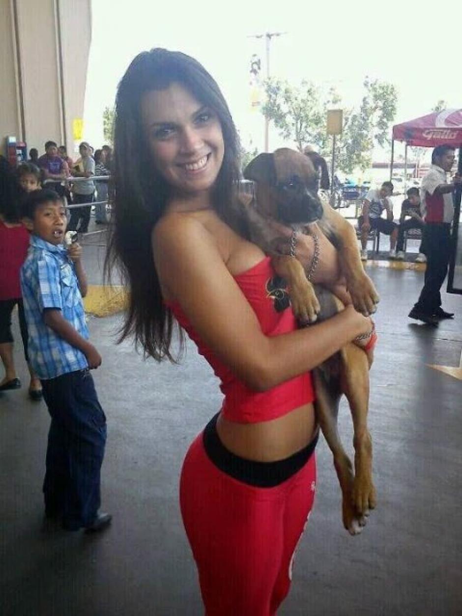 La modelo argentina vivió por varios años en Guatemala. (Foto: Twitter)