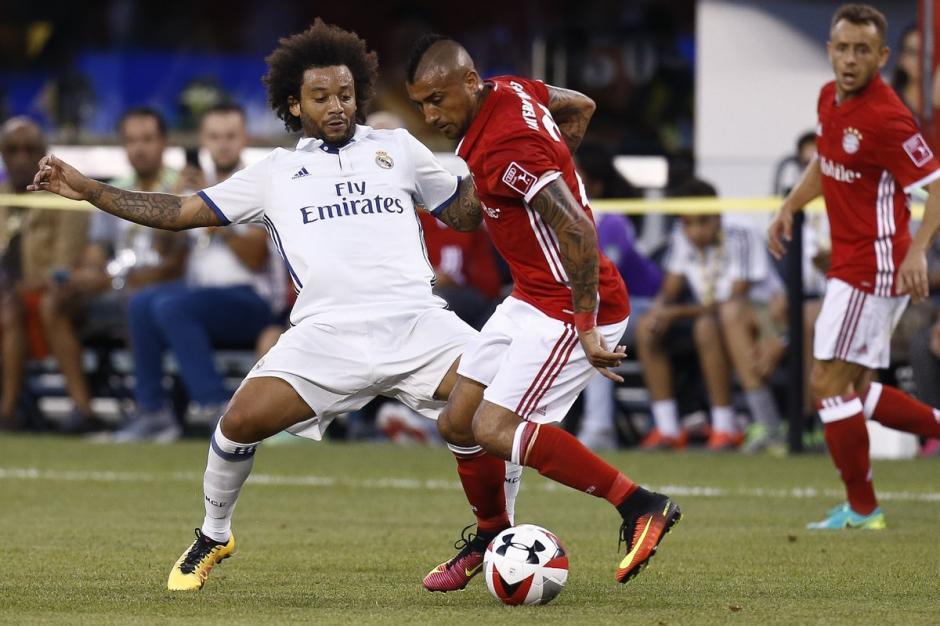 Marcelo sigue mostrando que aún tiene fútbol con el Real Madrid. (Foto: Twitter)