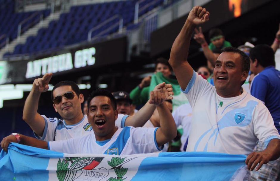 Los aficionados guatemaltecos acompañaron a Antigua GFC. (Foto: Antigua GFC)