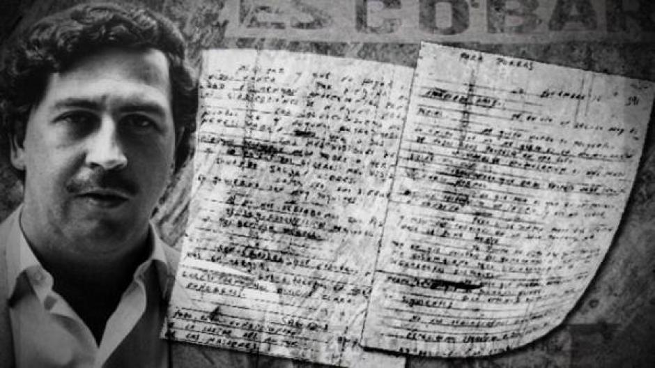 Cartas intimas de Pablo Escobar foto