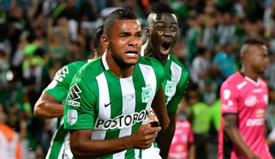 Borja fue el hérore al marcar el gol del título para Atlético Nacional. (Foto: EFE)
