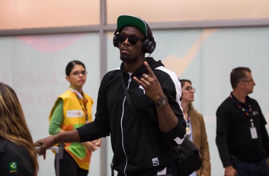 Usain Bolt ya está en Río de Janeiro, sin duda, una de las estrellas de los Juegos. (Foto: Río 2016)