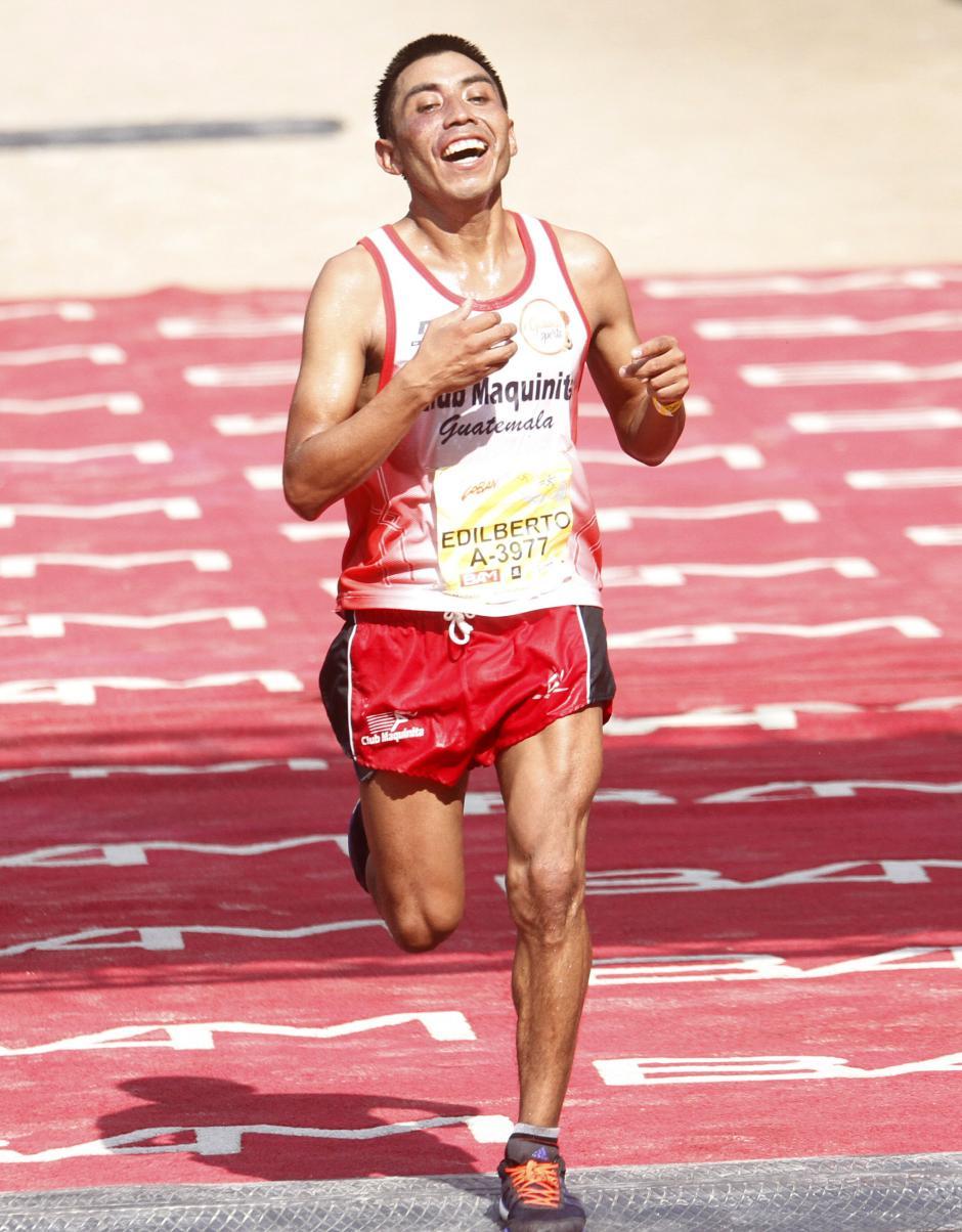 El guatemalteco Edilberto Raxón entró en el puesto número nueve. (Foto: Sports and Marketing)