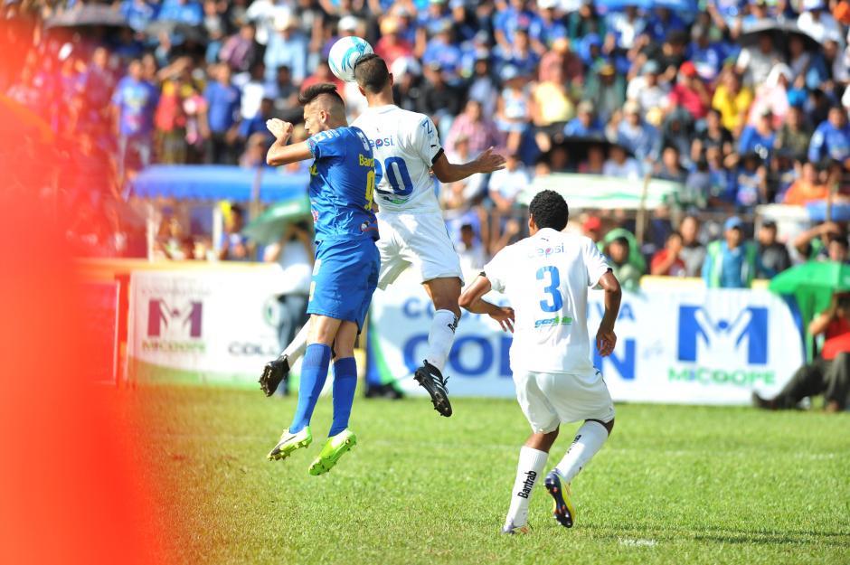 Los cobaneros se quedaron con los 3 puntos. (Foto: Sergio Muñoz/Nuestro Diario)