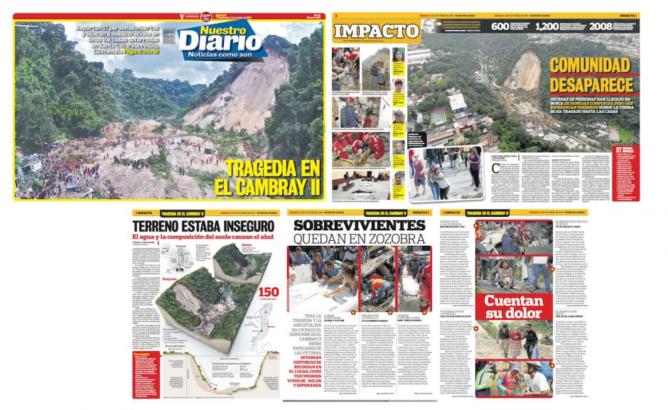 La tragedia de El Cambray II atrajo al jurado calificador. (Foto: Nuestro Diario)
