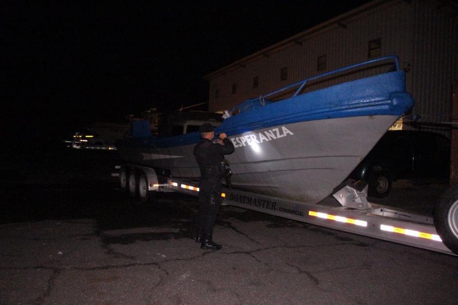 La droga era transportada en una lancha tiburonera que fue decomisada. (Foto: PNC)