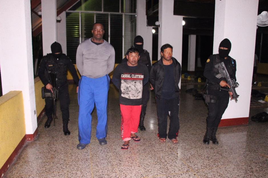 Tres ciudadanos ecuatorianos fueron capturados. (Foto: PNC)