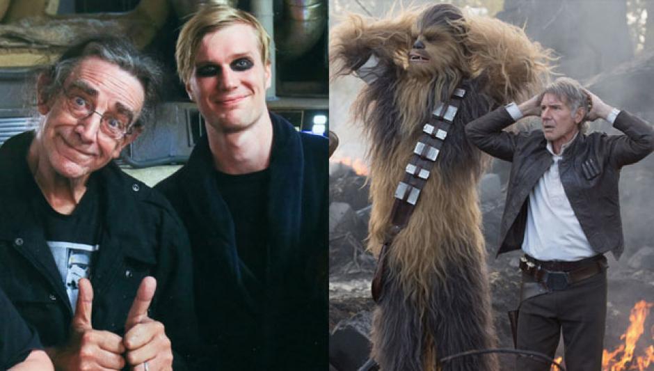 Suotamo es el doble del personaje de Chewbacca en las escenas de acción
