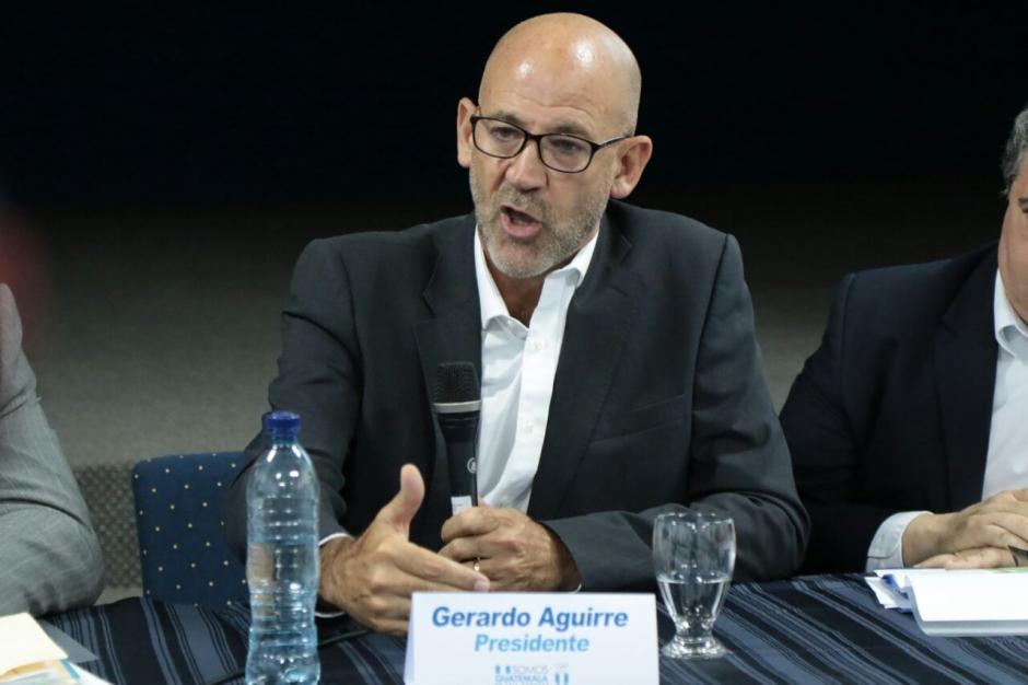 Gerardo Aguirre explicó sobre algunos de sus gastos. (Foto: Alejandro Balán/Soy502)