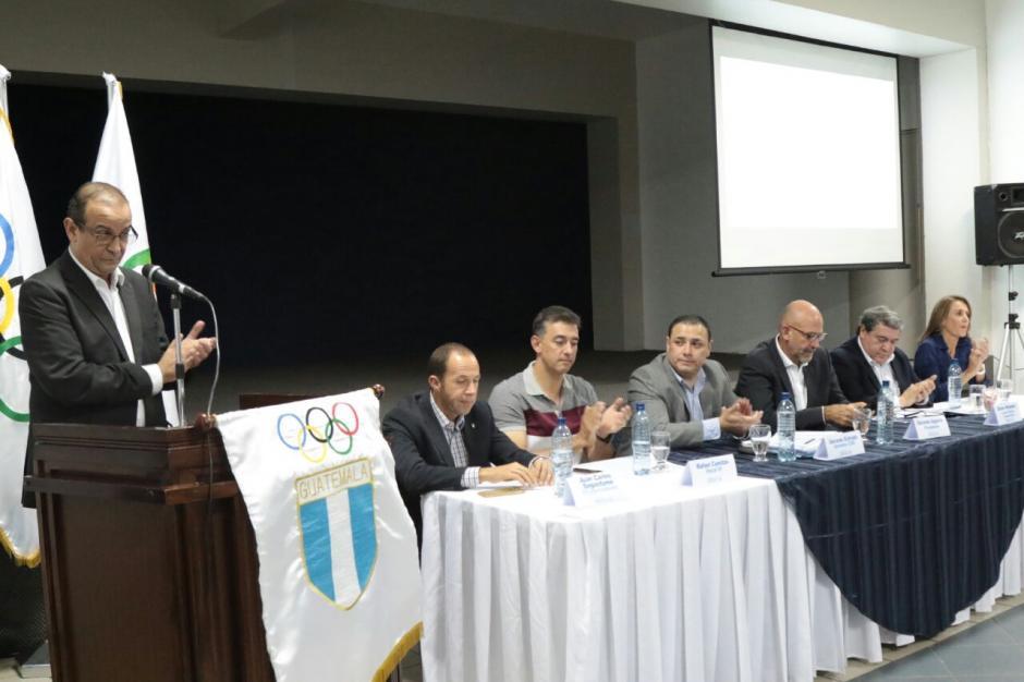 En la conferencia se dieron algunos detalles de lo gastado en las Juegos Olímpicos. (Foto: Alejandro Balán/Soy502)