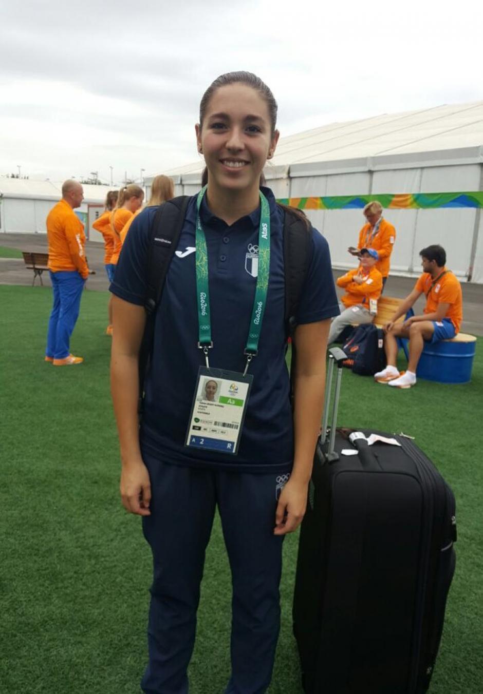Valerie, de 17 años, competirá en las pruebas de 400 y 800 metros libres. (Foto: COG)