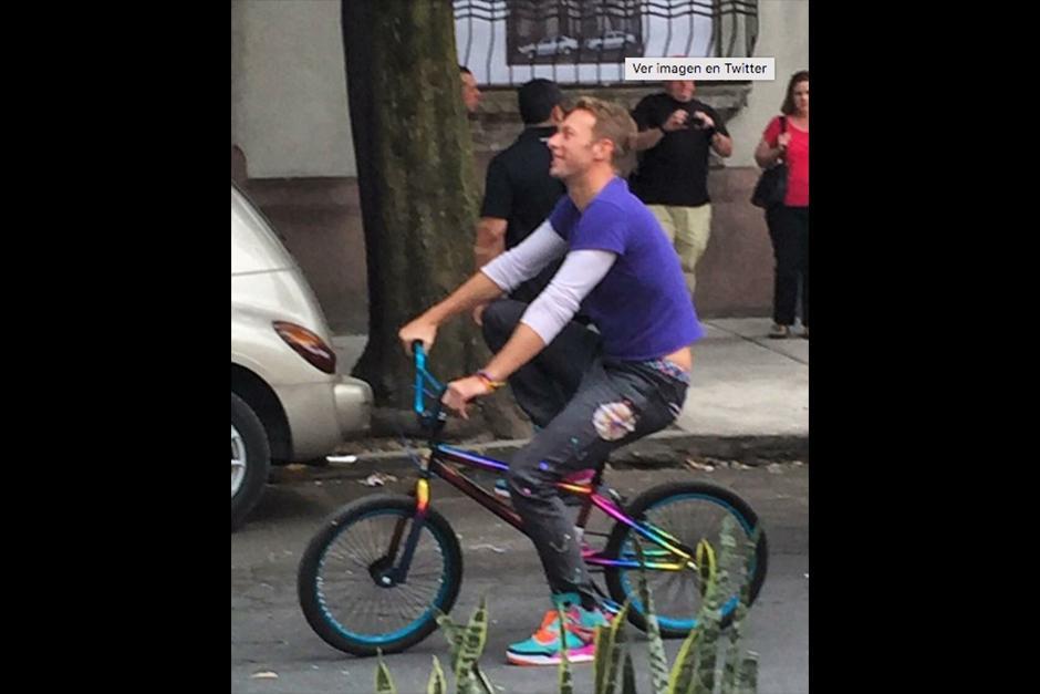 El video fue grabado en abril en la ciudad de México. (Foto: Instagram)