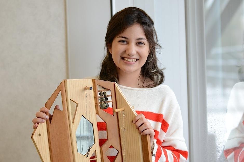 Pamela Vásquez ha pensado en la practicidad para organizar los accesorios. (Foto: Selene Mejía/Soy502)