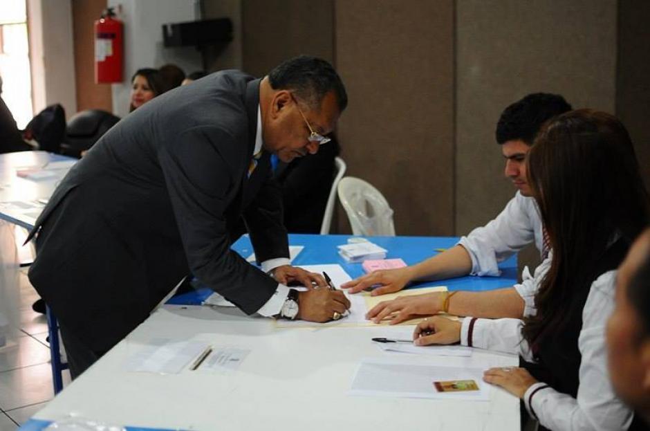 En menor porcentaje los abogados participaron de la segunda vuelta. (Foto: Jesús Alfonso/Soy502)