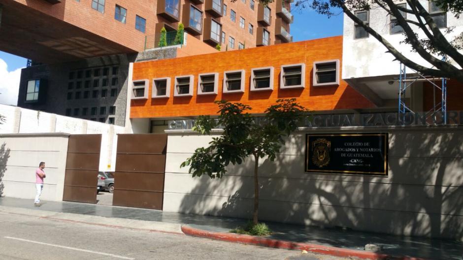 Las autoridades del Colegio de Abogados desconocen qué fue robado. (Foto: Soy502)