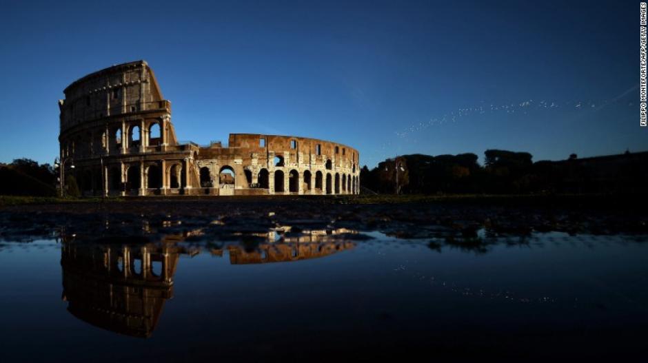 El Coliseo en Roma es otro de los lugares preferidos por los turistas a nivel mundial.