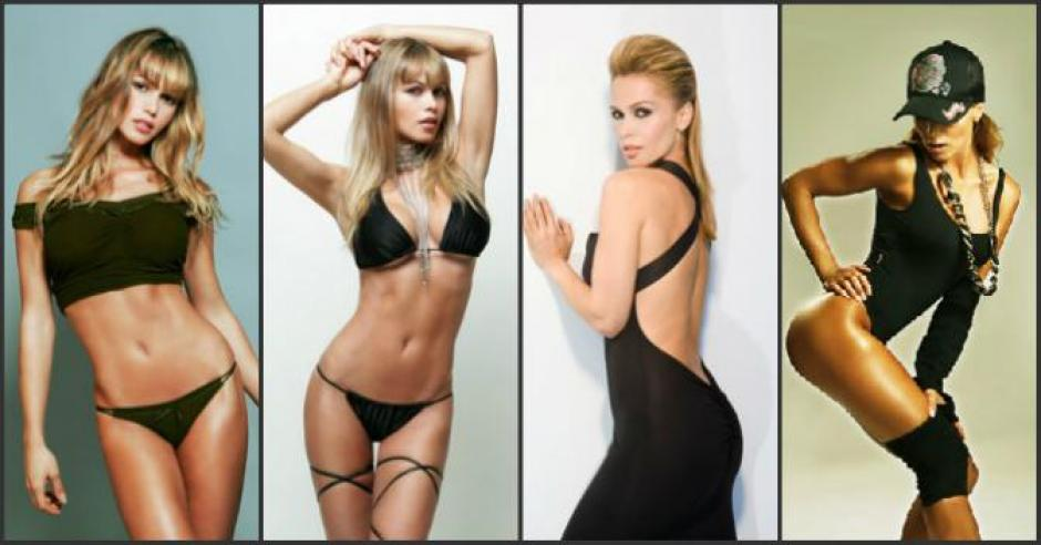 Yolanda Cardona, en sus diversas facetas del modelaje. (Foto: Yolanda Cardona)