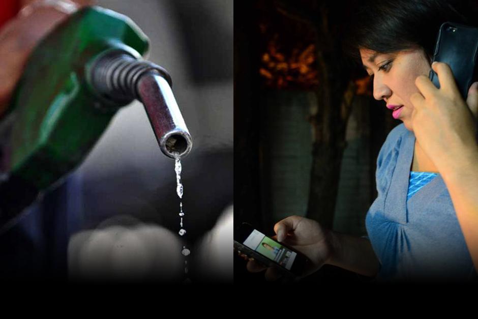 La reforma tributaria afectaría los combustibles y la telefonía. (Foto: Archivo/Soy502)