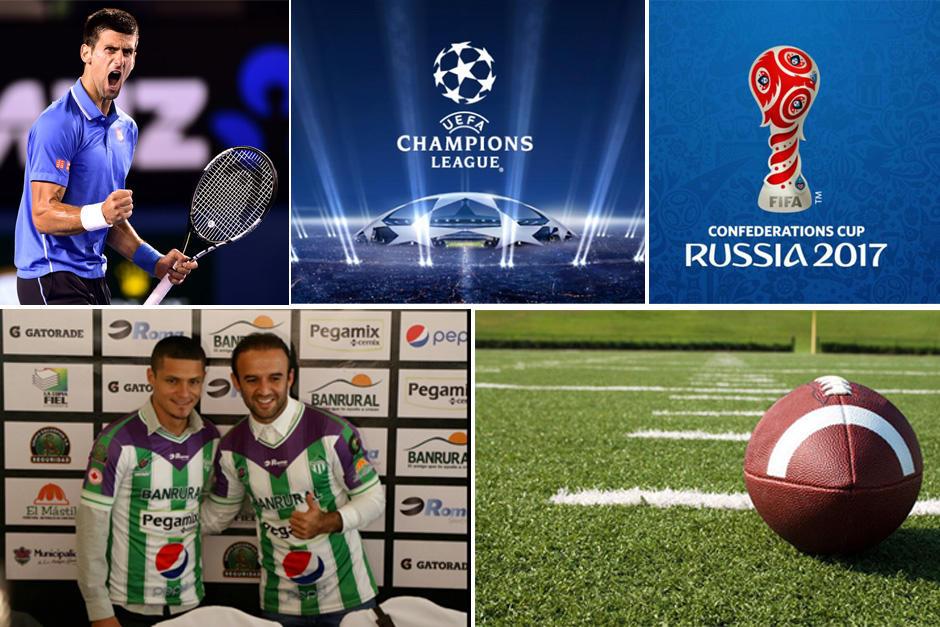 El 2017 viene cargado con varios eventos deportivos de la talla de la Copa Confederaciones