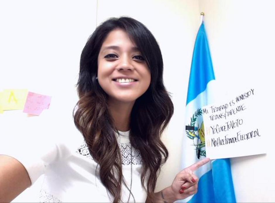 Con las etiquetas, #YoCuidéTuVoto y #NoHiceFraudeElectoral los voluntarios de las JRV granatizan que el proceso fue transparente y sin mancha.