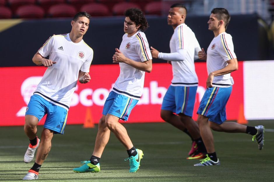 Colombia - estados unidos  previo copa américa 2016 foto