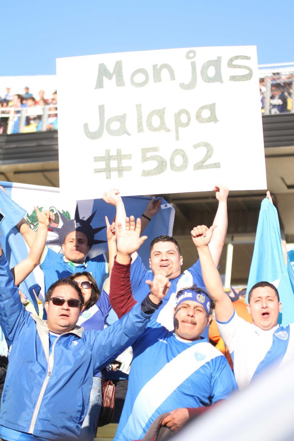 Jalapanecos que viven en Estados Unidos se hicieron sentir en Ohio. (Fotos: Luis Barrios/Soy502)
