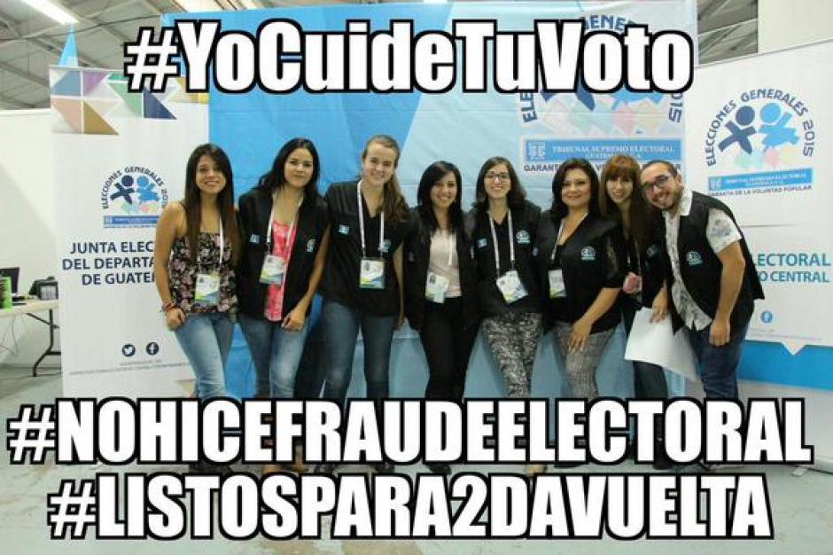 #YoCuideTuVoto y #NoHiceFraudeElectoral, un movimiento que crece a cada momento en redes sociales.