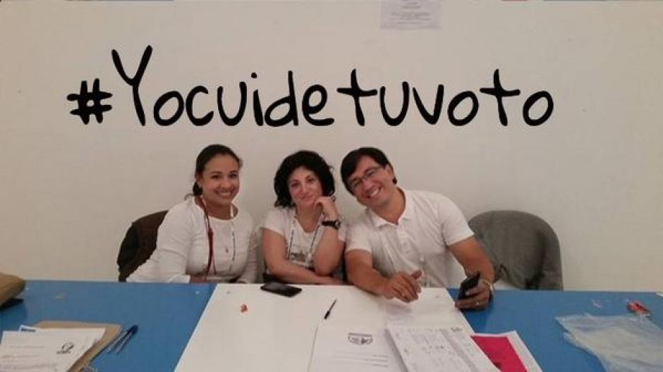 #YoCuideTuVoto y #NoHiceFraudeElectoral la respuesta de los guatemaltecos a Manuel Baldizón.