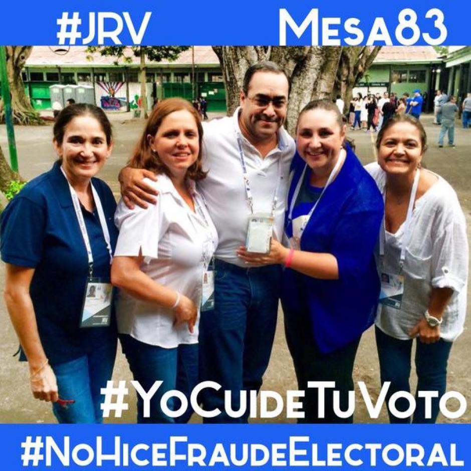 En nombre de 97 mil voluntarios, surge la iniciativa #YoCuideTuVoto y #NoHiceFraudeElectoral.