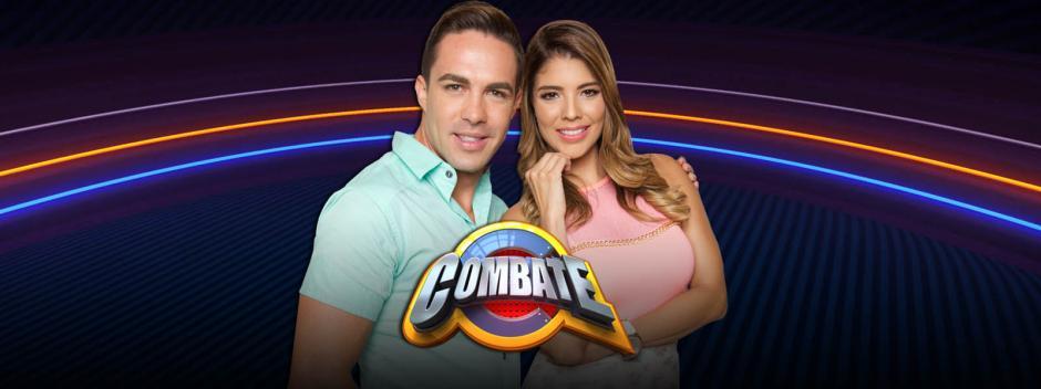 Los presentadores de Combate Costa Rica. (Foto: Twitter)