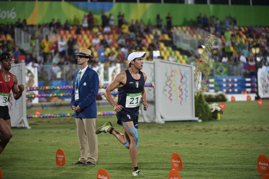 Charles finalizó en el puesto 15 del pentatlón olímpico. (Foto: Aldo Martínez/Enviado de Nuestro Diario)